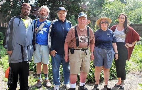 Group of volunteers in Rainbow Park