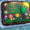 Cake for anniversary of Community Greenspace