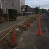 Poplar Street construction.