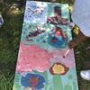 Painting a sandwich board