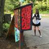 Painted lending library box