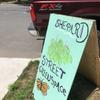 Shepard street greenspace sign