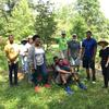 Volunteers at Edgewood park