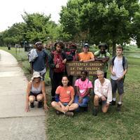 Group of Dover Beach volunteers
