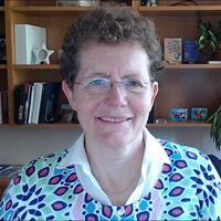 Sue smiling